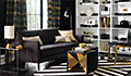 glam living room parlour
