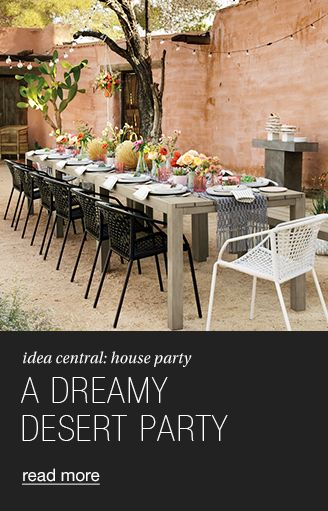A DREAMY DESERT PARTY