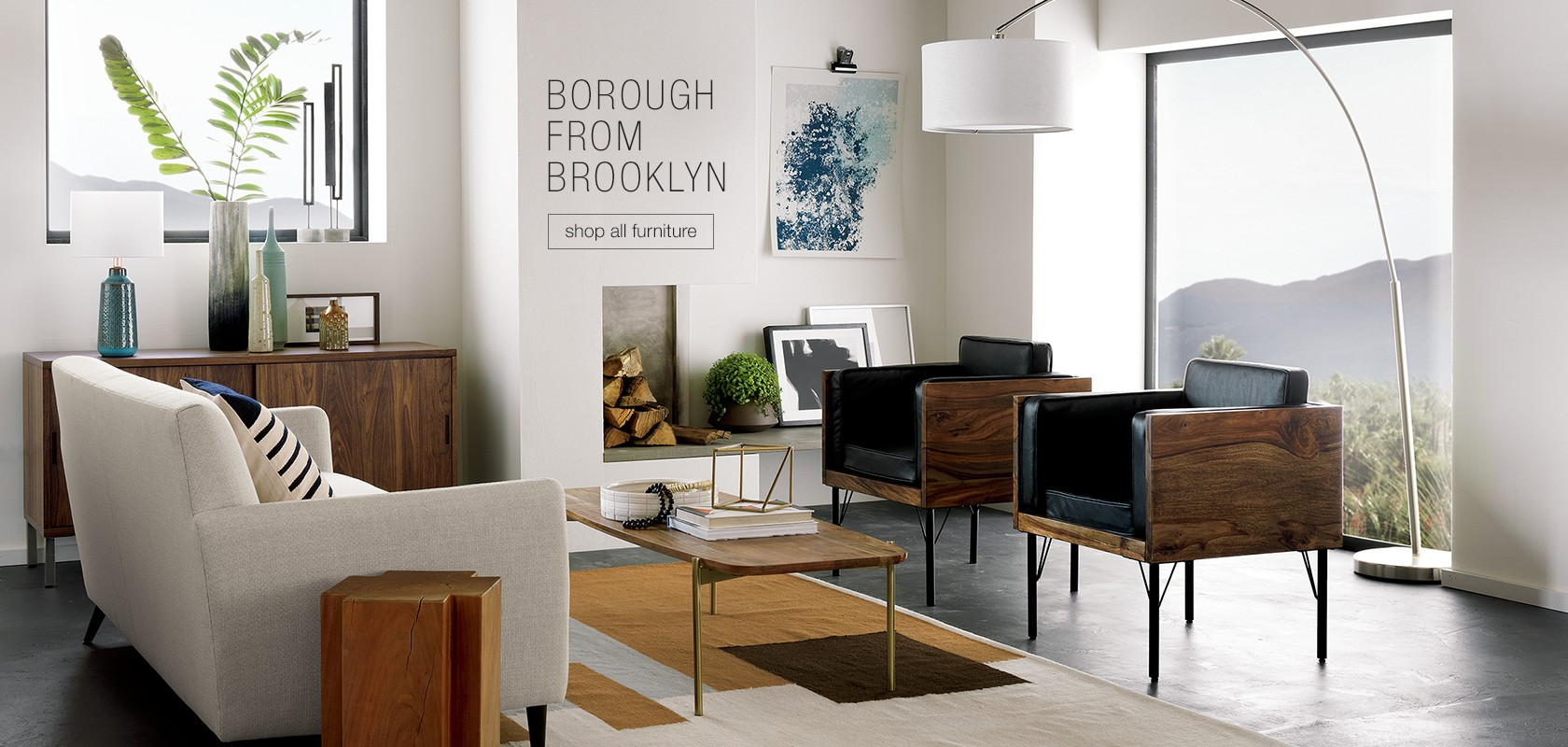 Borough from Brooklyn. shop all furniture