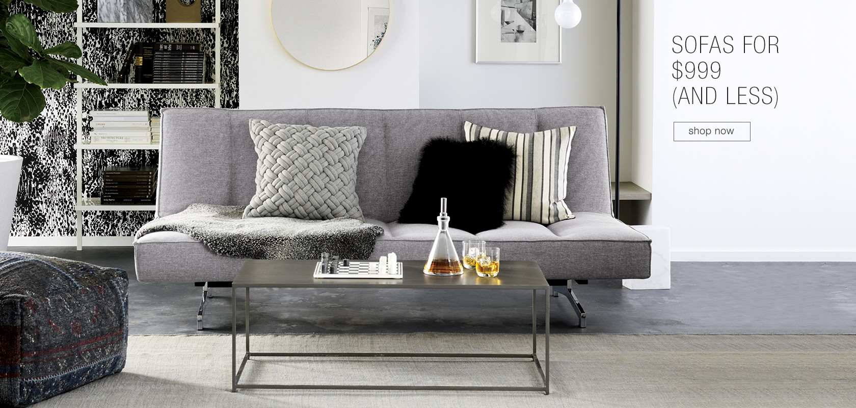 sofas for $999 (and less)