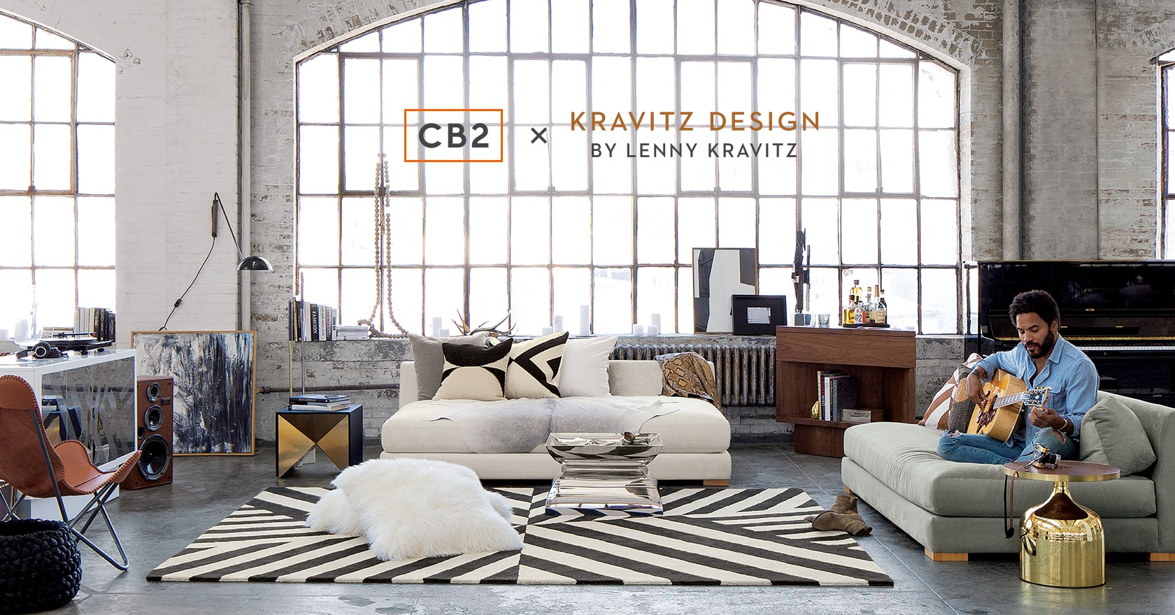 CB2 x Kravitz Design