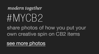 modern together. #mycb2