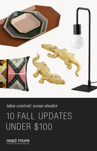 10 Fall Updates Under 100