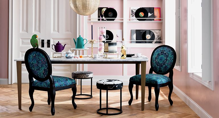 Colorful Dining Room Paradigm