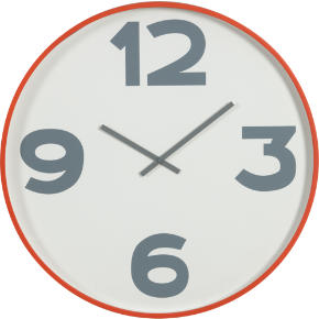 12-3-6-9 24 wall clock