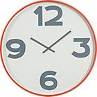 "12-3-6-9 24"" wall clock."