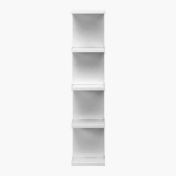 314BookcaseWhiteSdS11
