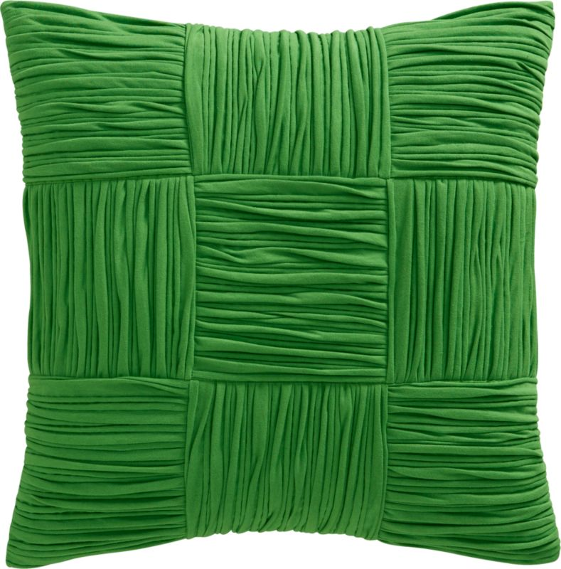 "9 square clover 18"" pillow"