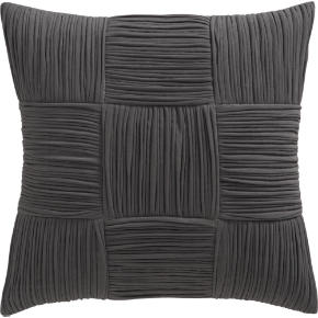 9 square grey 18 pillow