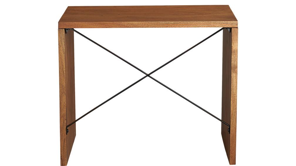 acacia wood console