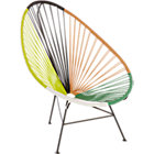 acapulco green outdoor lounge chair.