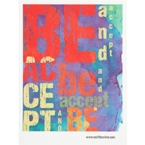 accept and be poster