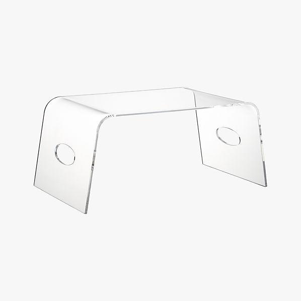 Acrylic Bed Tray CB2
