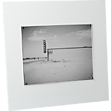 acrylic white 8x10 picture frame