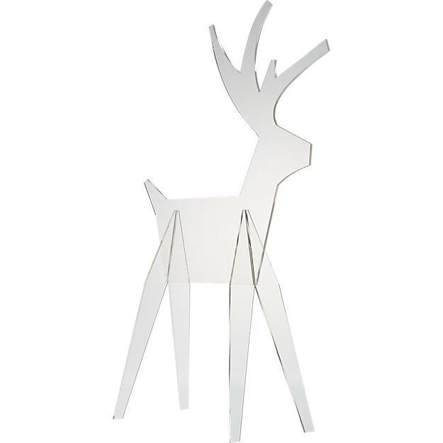 acrylic reindeer large