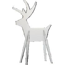 acrylic reindeer small