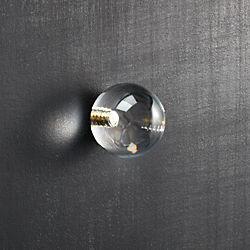 acrylic clear sphere knob