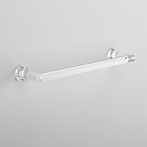 "acrylic 18"" towel bar"