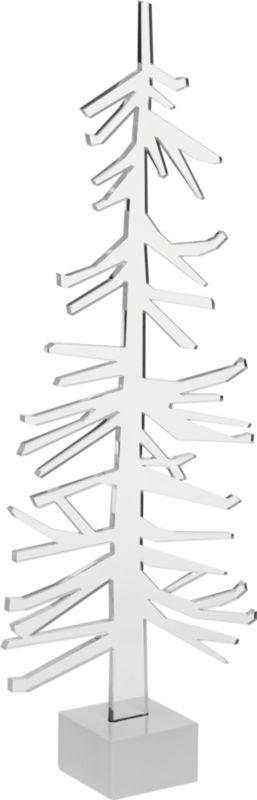 """acrylic 12.5"""" tree"""