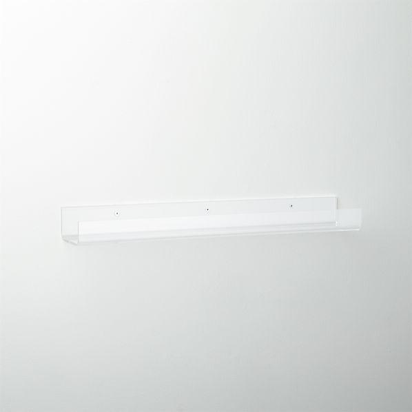 AcrylicWallShelf24InchF16