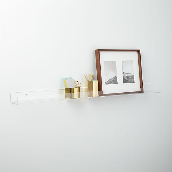 AcrylicWallShelf48InchAVF16