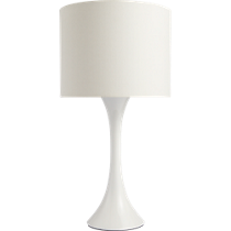 ada II white table lamp