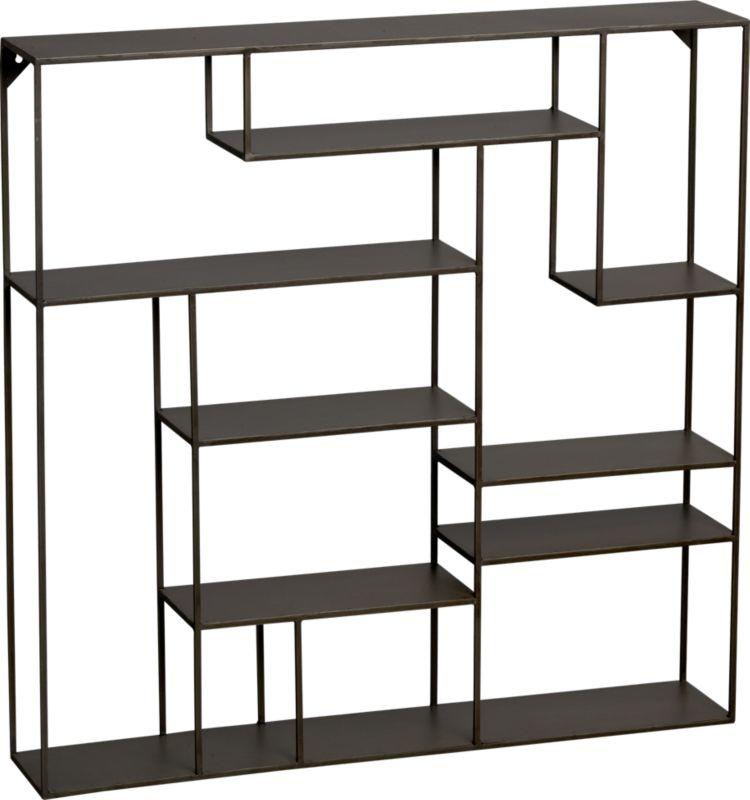 alcove wall shelf