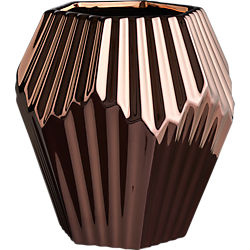 alexa copper vase-planter