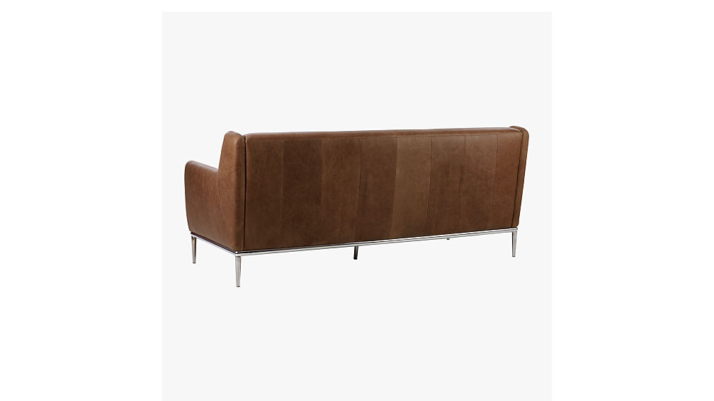 alfred leather sofa