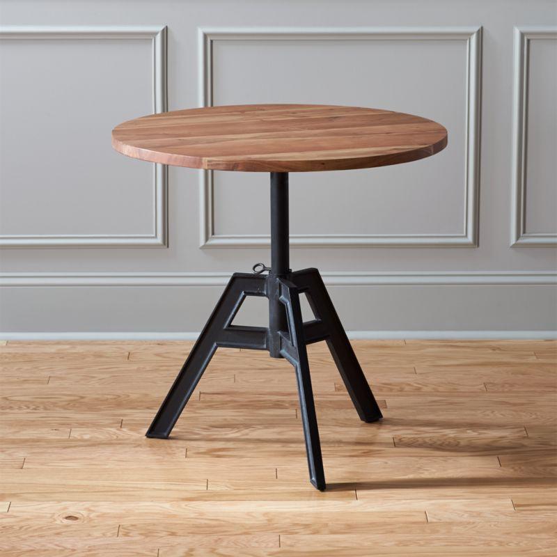 Alias Adjustable Bistro Table Cb2