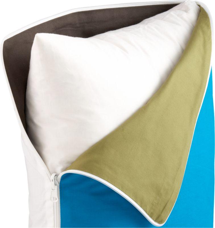 """all around zipper 18"""" pillow"""