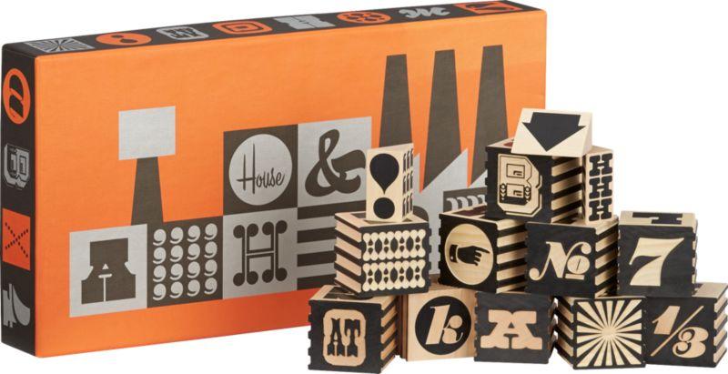 alphabet factory blocks