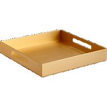 aluminum small gold tray