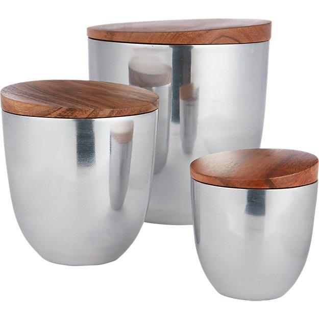 aluminum canisters