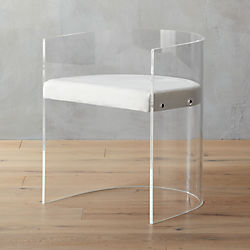 antonio acrylic chair
