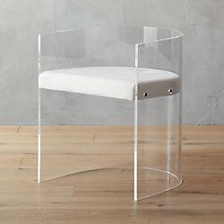 antonio acrylic chair