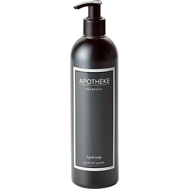 apotheke charcoal liquid soap