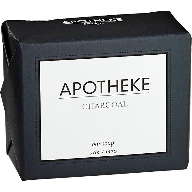 apotheke charcoal bar soap