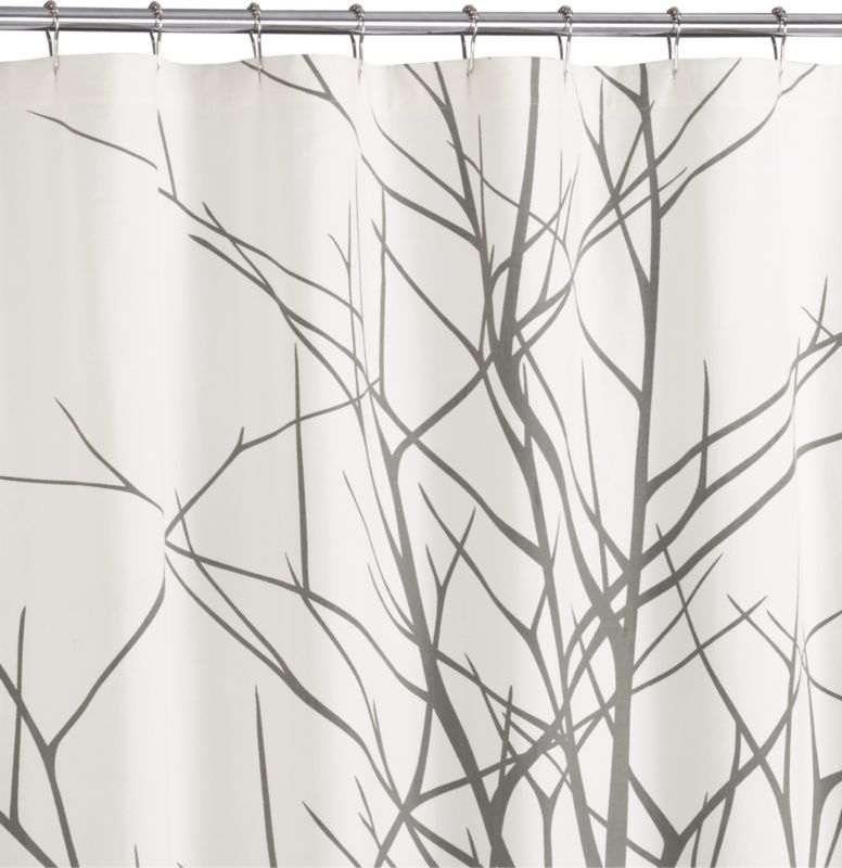 Image. Arbor Shower Curtain From CB2 · Photobucket