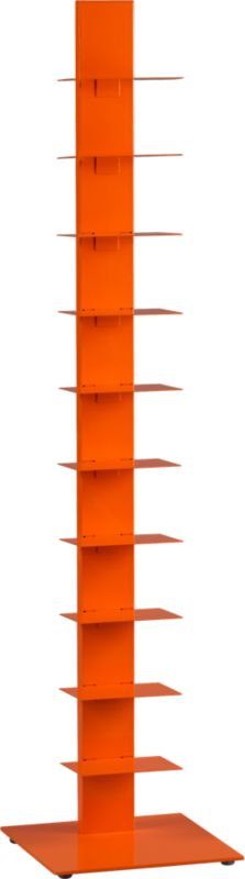 array orange bookcase