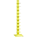 array yellow bookcase