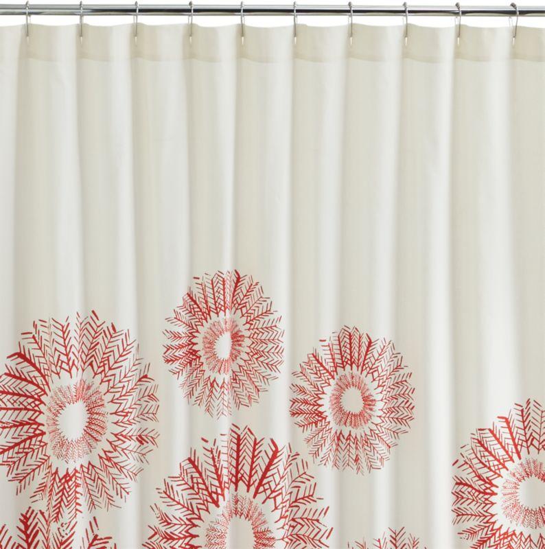 arrow shower curtain