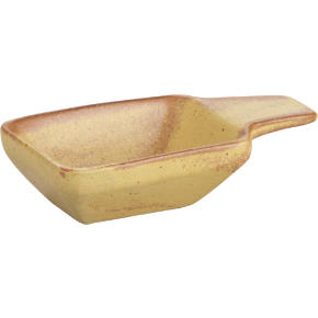 artifact bowl with handle
