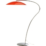 atomic lobster arc floor lamp
