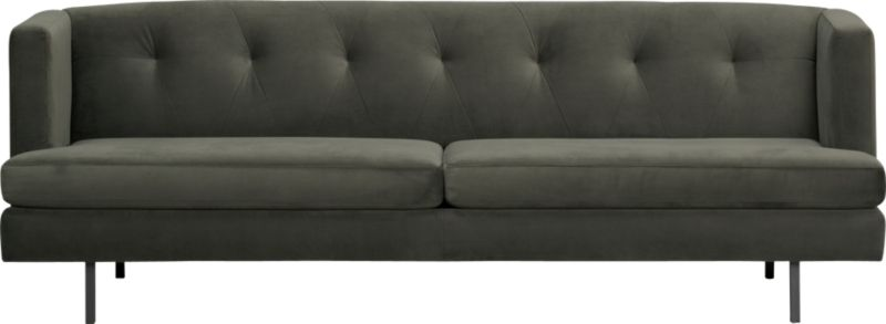 avec pewter sofa