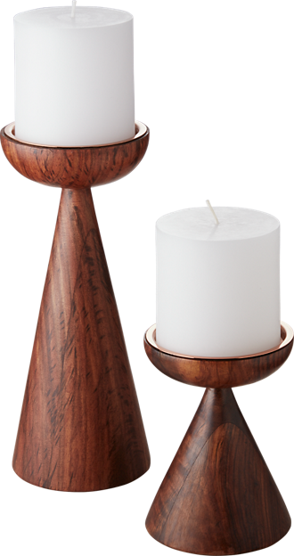 candleholders, candles