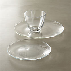 bari glass dinnerware
