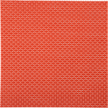 basketweave hot orange placemat