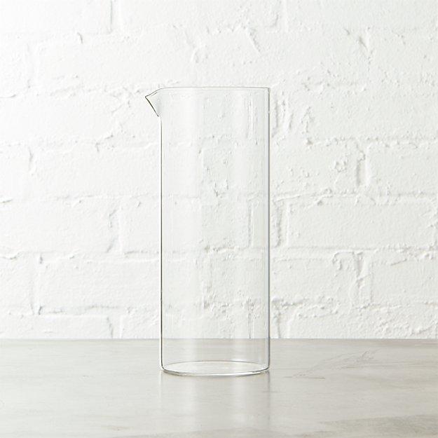 beaker small glass pitcher