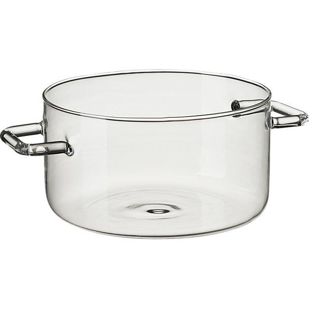 beaker glass dish with handles